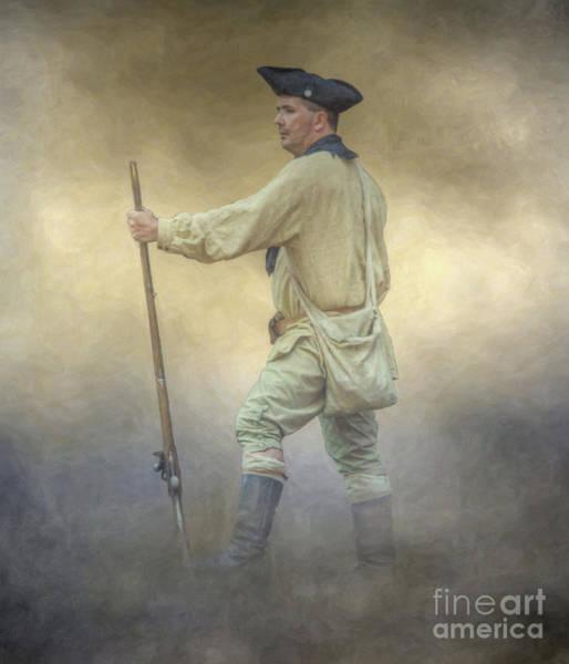 Wall Art - Digital Art - Colonial Knight  by Randy Steele