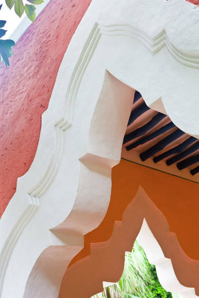 Yucatan Wall Art - Photograph - Colonial Mexican Arches At A Hacienda by Pam Mclean