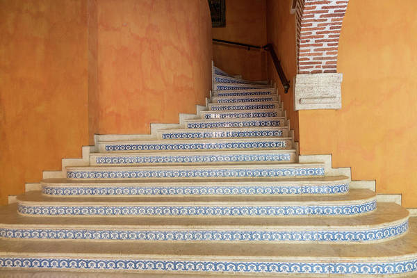 Photograph - Colonial Stairs by Juan Contreras