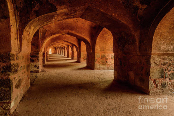 Photograph - Colonnade 01 by Werner Padarin