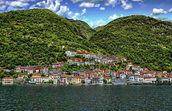 Photograph - Colonno Coastal View by Anthony Dezenzio