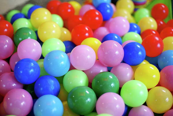 Ball Photograph - Color Balls by Taroplus