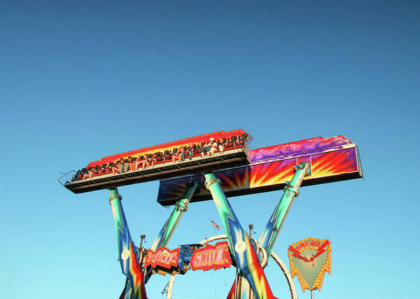 Wall Art - Photograph - Color Carnival Ride by Todd Klassy
