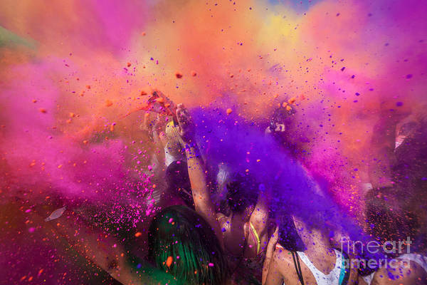 Wall Art - Photograph - Color Festival by Adam Filipowicz