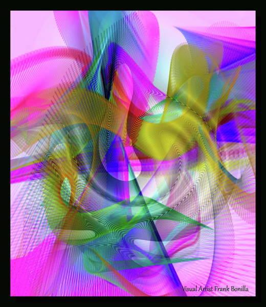 Digital Art - Color Full by Visual Artist Frank Bonilla