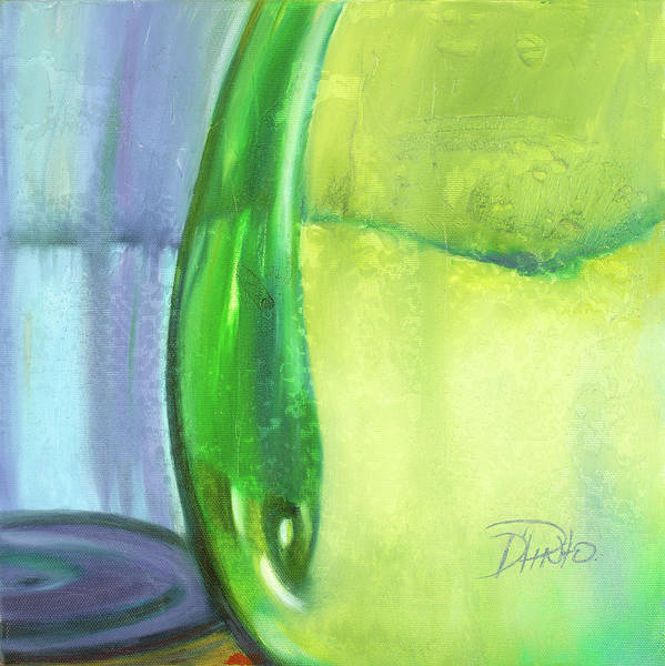 Wall Art - Painting - Color Glass Vii by Patricia Pinto