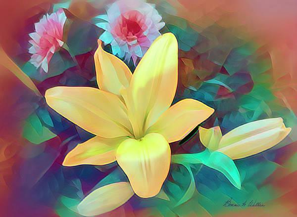Digital Art - Color It Pretty by Bonnie Willis