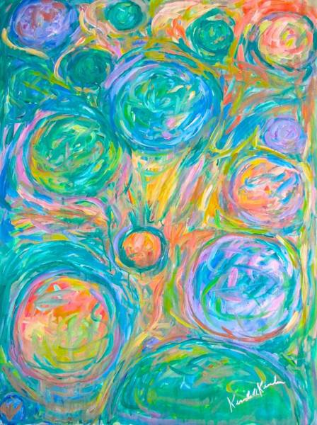 Painting - Color Space by Kendall Kessler