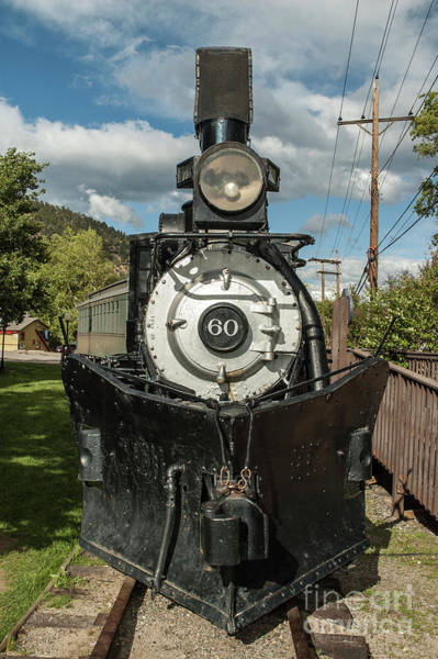 Photograph - Colorado And Southern Loco 60 by Tim Mulina