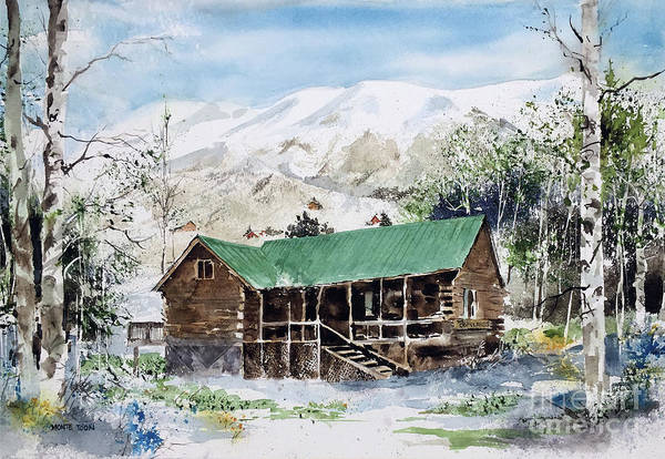 Painting - Colorado Haven by Monte Toon