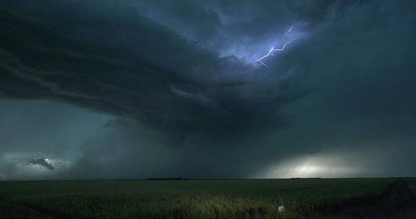 Photograph - Colorado Kansas Storm Chase 033 by Dale Kaminski