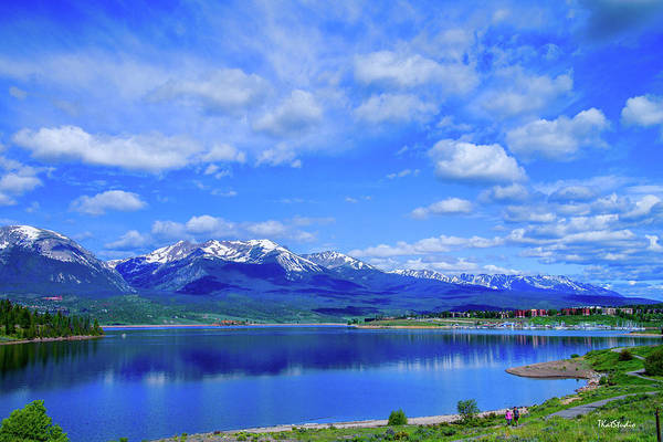 Photograph - Colorado Mountains Behind Lake Dillon by Tim Kathka