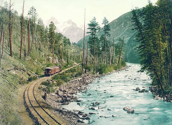 Photograph - Colorado Needle Mountains, Canon Of The Rio Ias Animus by Detroit Photographic Company
