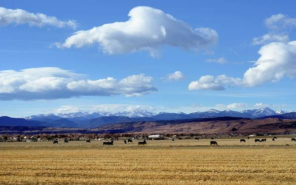Ranch Photograph - Colorado Ranch In Rocky Mountains by Rivernorthphotography
