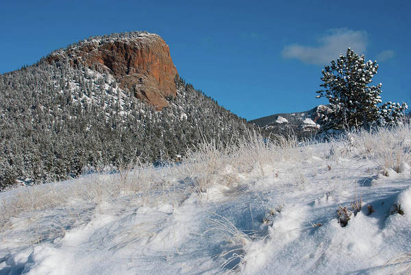 Photograph - Colorado Red Rock Winter Beauty by Cascade Colors