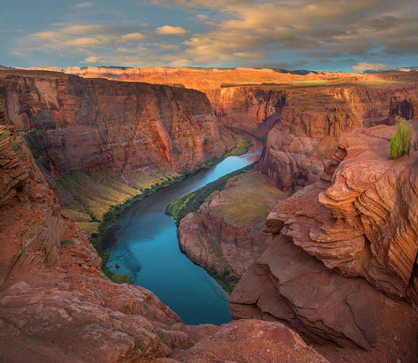 Photograph - Colorado River At Horseshoe Bend by Tim Fitzharris