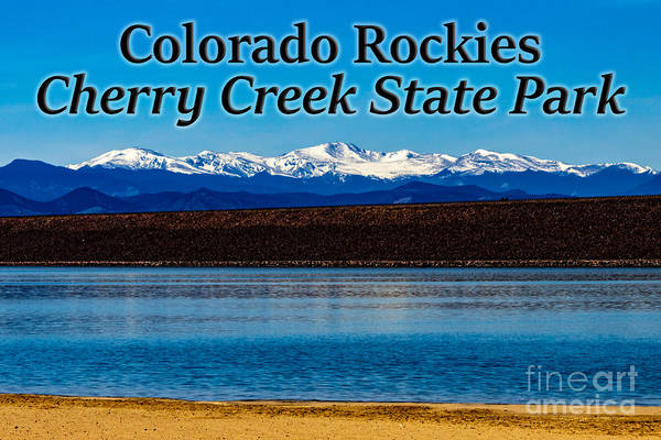 Photograph - Colorado Rockies From Cherry Creek State Park by G Matthew Laughton