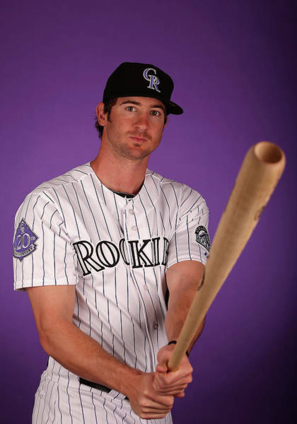 Talking Photograph - Colorado Rockies Photo Day by Christian Petersen