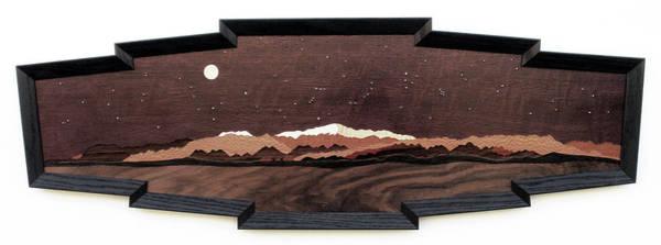 Pleiades Painting - Colorado Springs Panorama by Lynne Buss