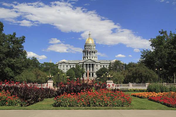 Wall Art - Photograph - Colorado State Capitol Building by John Kieffer