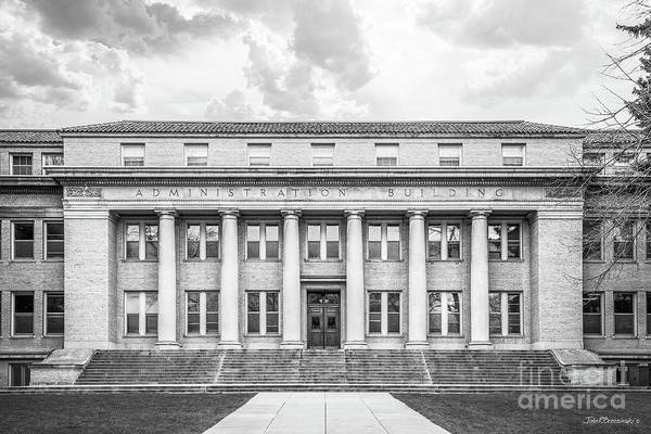 Photograph - Colorado State University Administration by University Icons