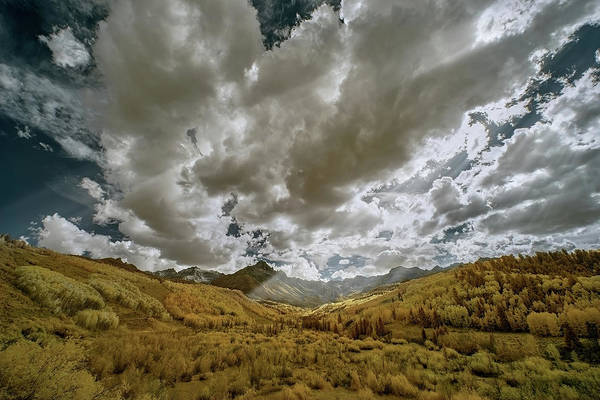 Wall Art - Photograph - Colorado Sun Rays by Jon Glaser