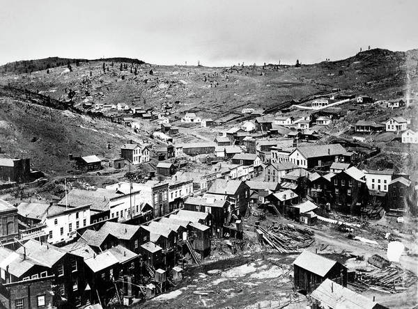 Wall Art - Photograph - Colorado Town, 1864 by Granger