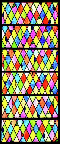 Digital Art - Colored Diamonds by Rick Wicker