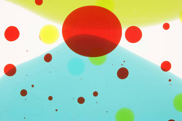 Photograph - Colored Liquids by Paul Taylor