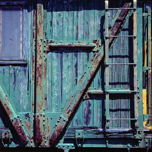 Wall Art - Photograph - Colored Railroad Car by Panoramic Images