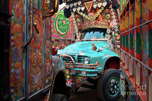 Truck Art Art Print