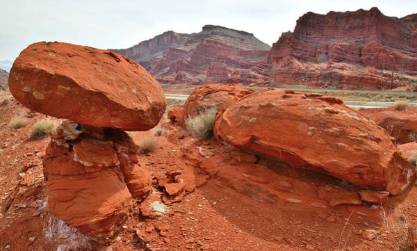 Photograph - Colorful Boulders And Buttes Of Utah 191 by Ray Mathis