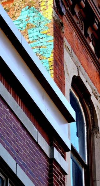 Photograph - Colorful Brick by Jerry Sodorff