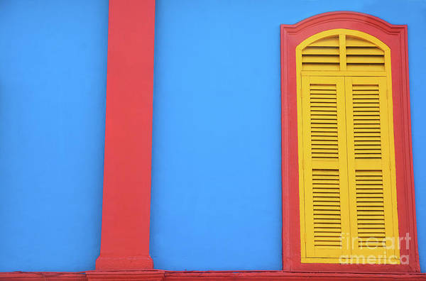 Wall Art - Photograph - Colorful Building Singapore by Jayk7