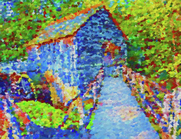 Painting - Colorful Cades Cove Mill by Dan Sproul