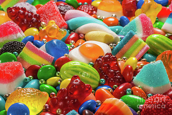 Wall Art - Photograph - Colorful Candy by Thecrimsonmonkey