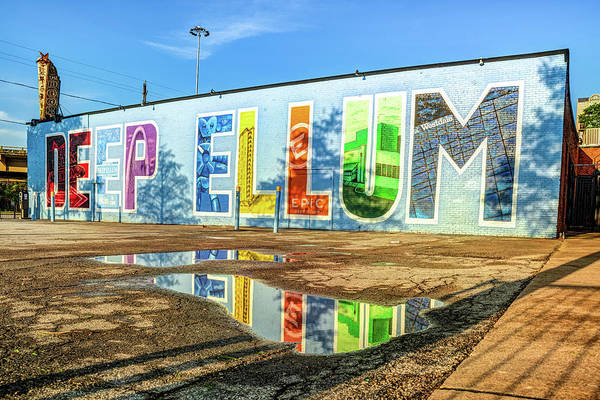 Photograph - Colorful Deep Ellum Dallas Texas Mural Landmark by Gregory Ballos