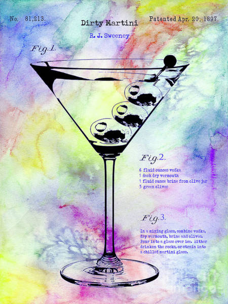 Wall Art - Photograph - Colorful Dirty Martini by Jon Neidert
