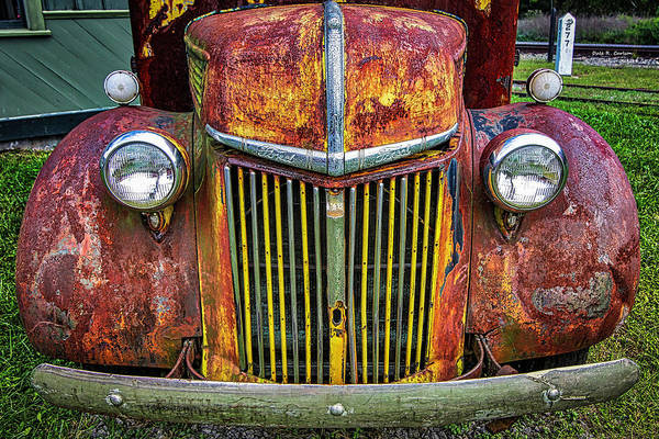 Colorful Ford Art Print