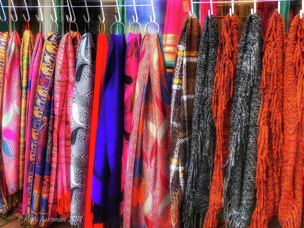 Wall Art - Photograph - Colorful Garments by Kathi Isserman
