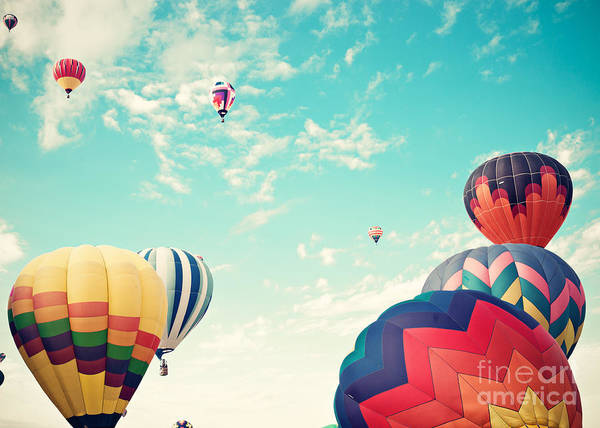 Wall Art - Photograph - Colorful Hot Air Balloons by Andrekart Photography
