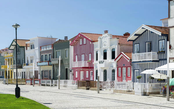 Wall Art - Photograph - Colorful Houses Of Costa Nova by Martin Zwick