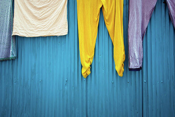Photograph - Colorful Laundry by Nicole Young