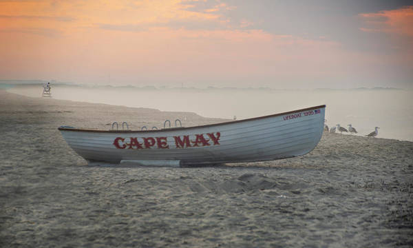 Photograph - Colorful Mornings At Cape May New Jersey by Bill Cannon