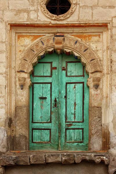 Handle Photograph - Colorful Old Doors Of by Yavuzsariyildiz