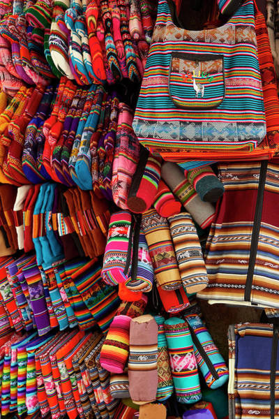 Wall Art - Photograph - Colorful Pencil Cases, Bags, And Oven by David Wall