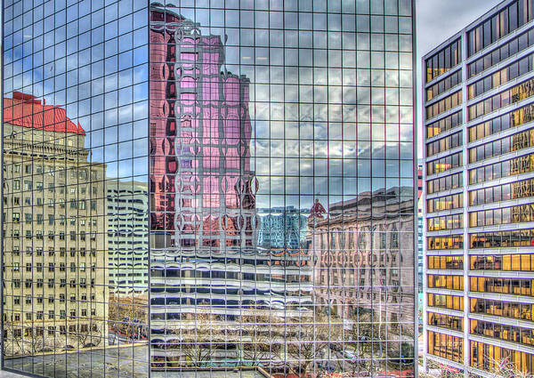 Photograph - Colorful Portland Reflections by Jean Noren