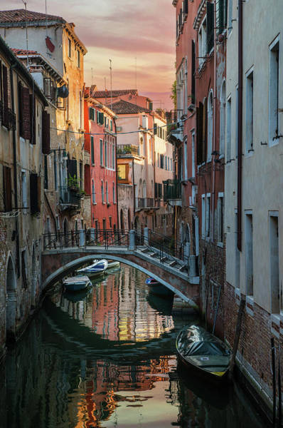 Photograph - Colorful Postard From Venice by Jaroslaw Blaminsky