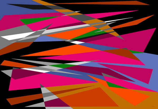 Digital Art - Colorful Reaction by Val Arie