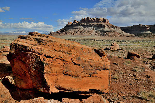 Photograph - Colorful Scenic Byway 313 In Utah by Ray Mathis